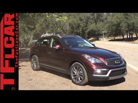 2016 Infiniti Qx50 First Drive Review New Facelift More Leg Room