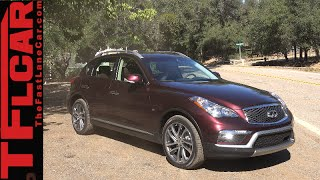 2016 Infiniti QX50 First Drive Review: New Facelift & More Leg Room