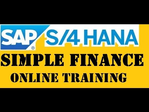 SAP S4 HANA SIMPLE FINANCE 1610 LIVE TRAINING WITH CERTIFICATION DOCUMENTS