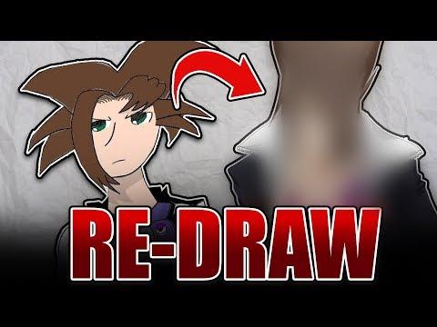 Ich zeichne meine alte Zeichnung neu | RE-DRAW Challenge | Drawinglikeasir