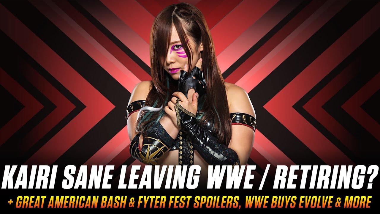 Kairi Sane Leaving WWE? Great American Bash & Fyter Fest Leaked? & More (Smack Talk 448 Hot Tags ...
