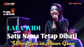 LALA WIDI,SATU NAMA TTD,cipta EYE-MERISTA LIVE KEDAMEAN (Jara'an) SEPTEMBER 2019