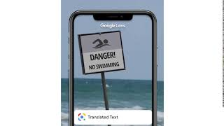 Translate with Google Lens