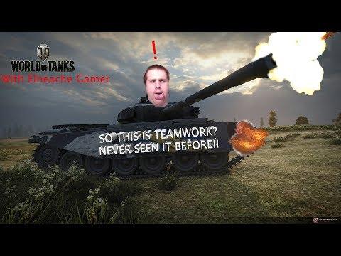 RANDOM TEAMS DO WORK!! | World Of Tanks - Online  #1