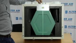 Приточно-вытяжная установка с пластинчатым рекуператором Elicent AERA(, 2016-05-26T06:40:31.000Z)