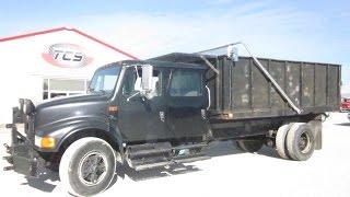 1993 International 4900 Flatbed Dump Truck