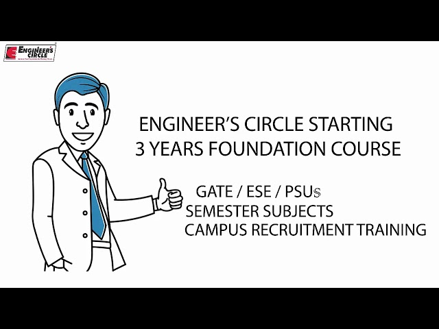 3 YEAR FOUNDATION CLASSROOM COURSE