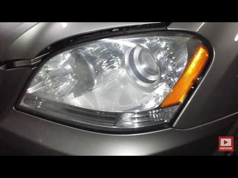 Mercedes Front Marker Bulb Replacement DIY