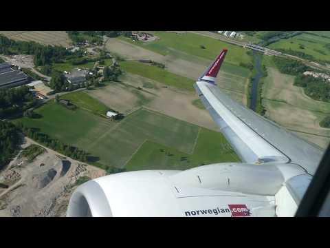 Norwegian 737-8JP EI-FVX takeoff from Helsinki-Vantaa Airport