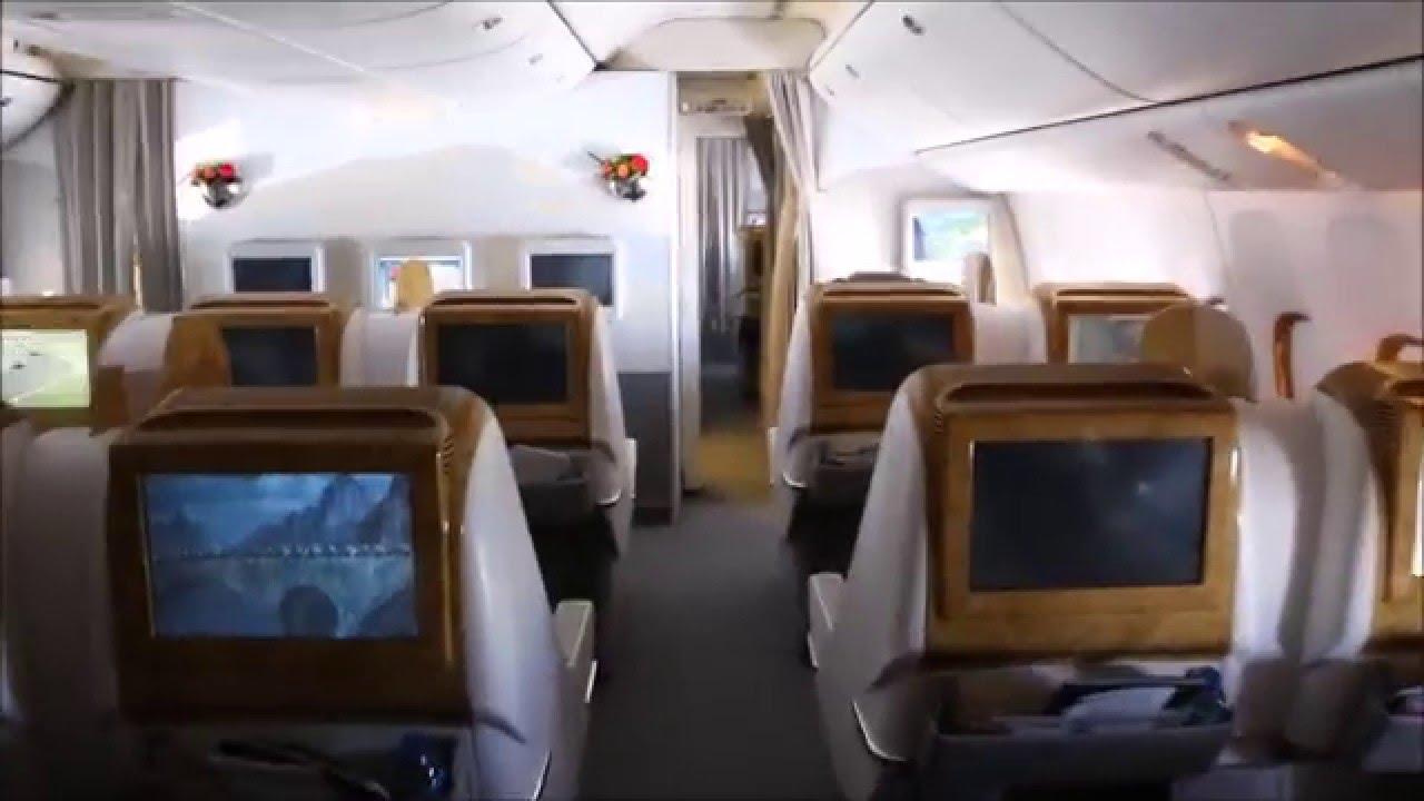 Emirates Boeing 777 200lr Dubai Oslo In Business Class