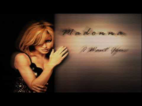 Madonna I Want You (Album Instrumental)