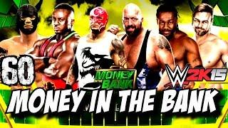 WWE 2K15 Türkçe Oynanış | MONEY IN THE BANK | 60.Bölüm | Kariyer | Ps4