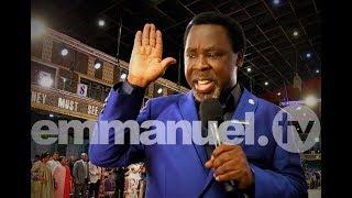 SCOAN 21/10/18: Mass Prayer, Prophecy & Deliverance with TB Joshua   Live Sunday Service