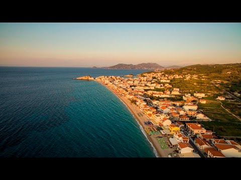 Greece Summer 2016 Samos and Andros island in 4K