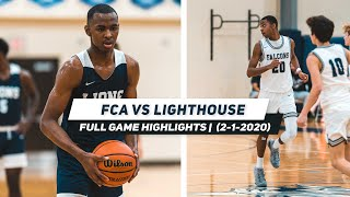 Lighthouse vs. Franklin Christian Acaḋemy | FЏLL GĄME HIGHĻIGHTS (2-1-2020)