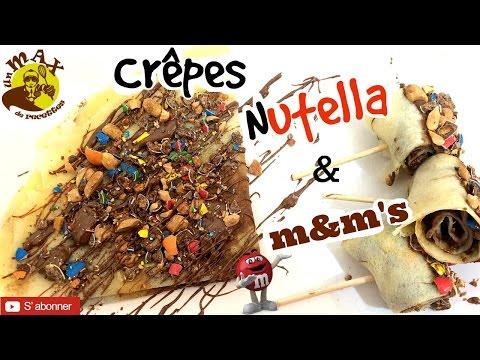 recette-crêpes-au-nutella-&-m&m's-facile-rapide-et-originales-[recette-facile-rapide-]