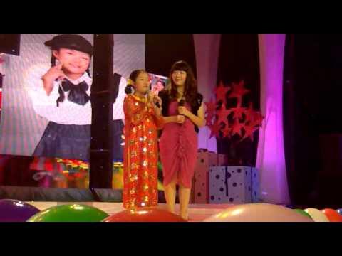 Hà Phạm Anh Thư giao lưu BGK full - Gala Tết Đồ Rê Mí 2012