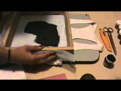 f39524aa994aa Serigrafía Estampado de Camisetas-Franelas en casa. - YouTube