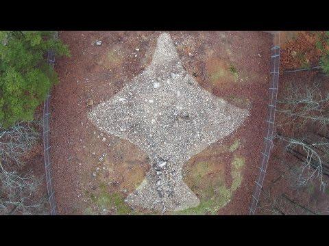 Rock Hawk Effigy Mound - Ancient Mystery, Georgia
