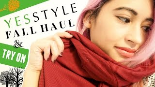 YesStyle FALL HAUL l Tips & Try On