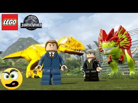 Lego Jurassic World Silvio Santos e Roque (SBT)