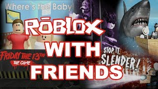 PLAYING ROBLOX WITH SUBSCRIBERS AND FRIENDS ON XBOX ONE - IT WAS CHAOS