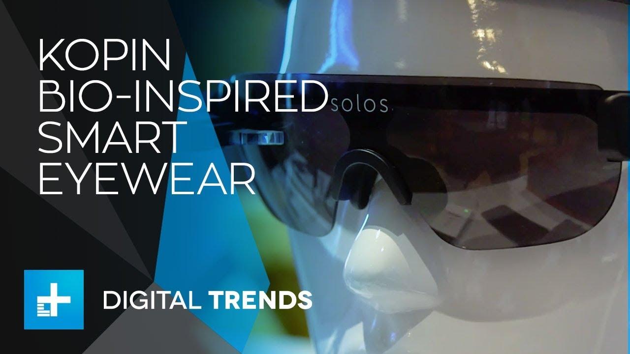 Kopin Bio-Inspired Smart Eyewear at CES 2018