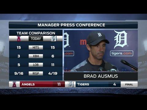 LAA@DET: Brad Ausmus talks good start, bad finish