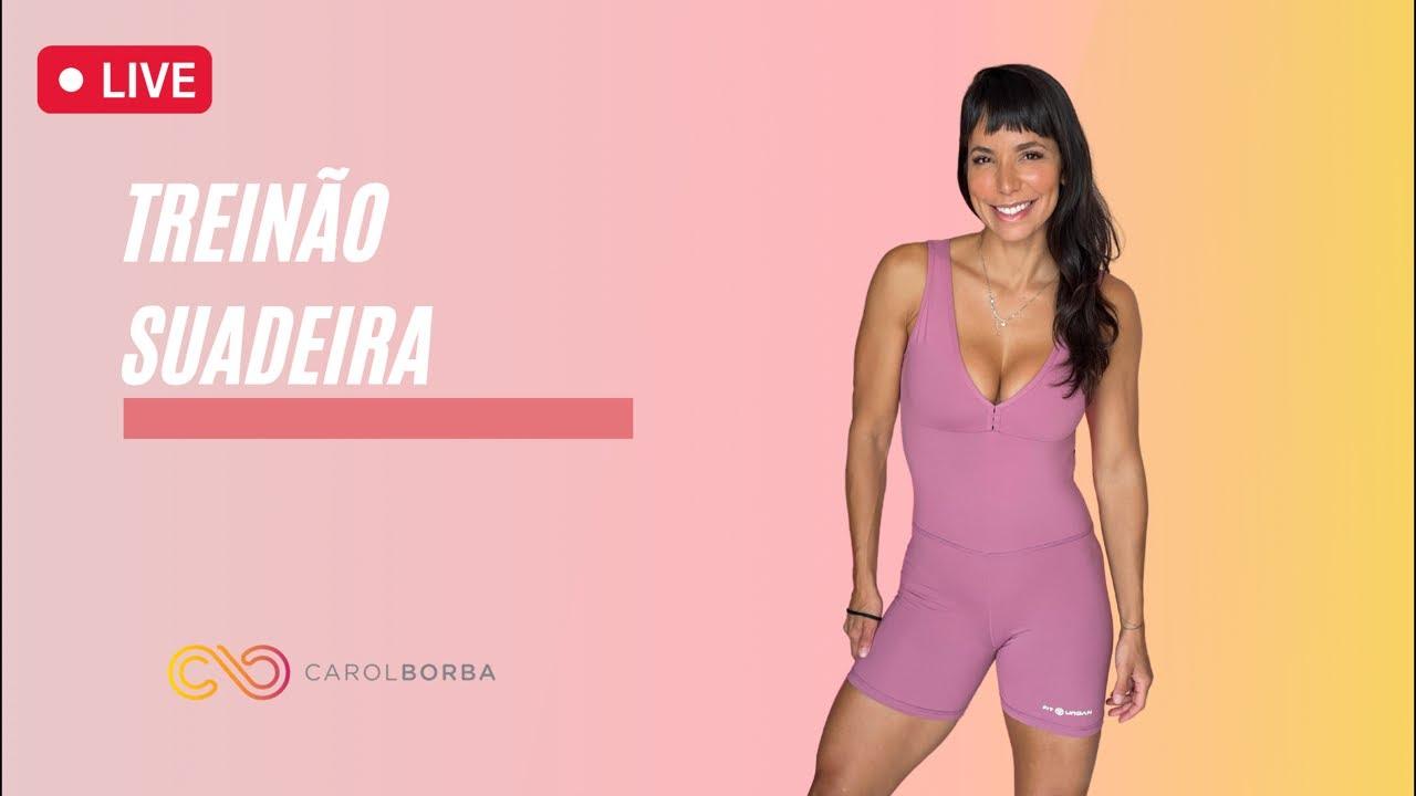 Download 🔴Treino AO VIVO Suadeira 😅 - Carol Borba