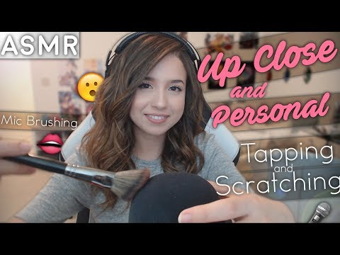 UP CLOSE & PERSONAL ASMR ❤ ft mic brushing, scratching, tapping & more  :)