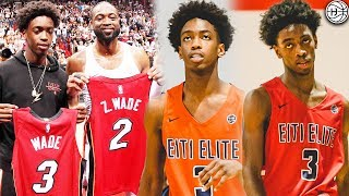 Zaire Wade GOES OFF In 1st E1T1 Tournament! Dwyane Wade Son IS A DIMER!