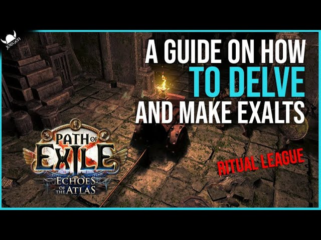 A Guide On How To Delve And Make Easy Exalts 2021 3 13 Ritual League Path Of Exile Youtube