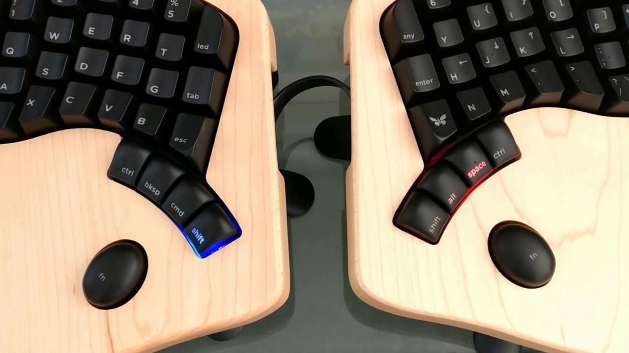 81ea40a01ef Keyboardio Model 01: quick demo of LED modes - YouTube