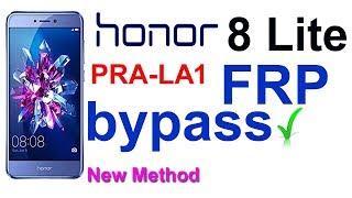 Honor 8 lite FRP bypass | 8 lite PRA-LA1 frp bypass | Honor 8 lite LA1 frp bypass 2019