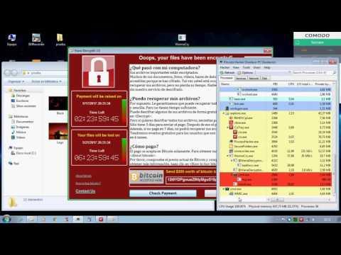 Comodo Internet Security 10 vs WannaCry ransomware