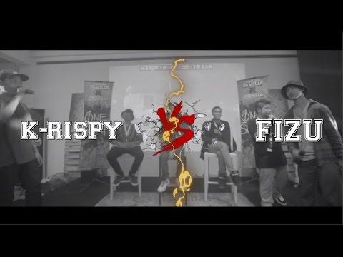 Lawalah X Underboss - Rap Battle - K-rispy VS Fizu
