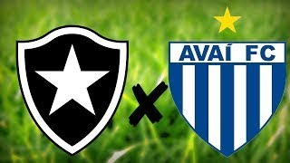 Futebol ao vivo - Botafogo x Avaí - hoje ao vivo - Assista agora - Brasileirão 2017