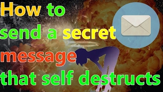 How to send a secret message that self destructs(delete) | WICKR REVIEW