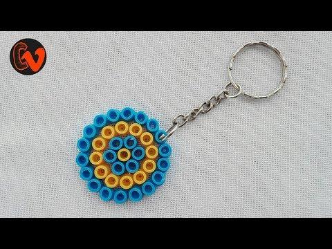 DIY / How to make Perler Bead Keychain
