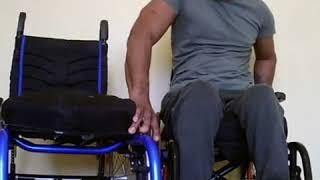 Paraplegic demonstrate transfers