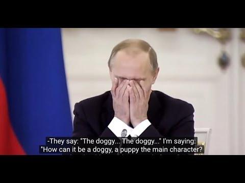HILARIOUS: Vladimir Zhirinovsky discusses the status of the Russian language with Putin