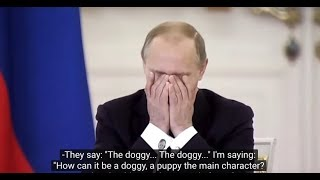HILARIOUS: Vladimir Zhirinovsky discusses the status of the Russian language with Putin