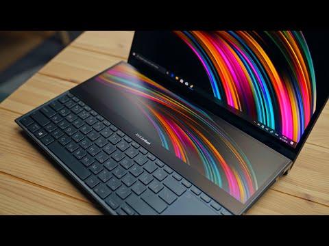 Обзор ZenBook Pro Duo — два 4К-экрана в одном корпусе!