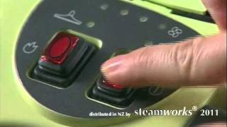 Using a Polti Turbo & Allergy steam cleaner