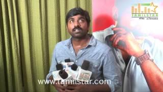Vijay Sethupathi At Sethupathi Movie Team Interview
