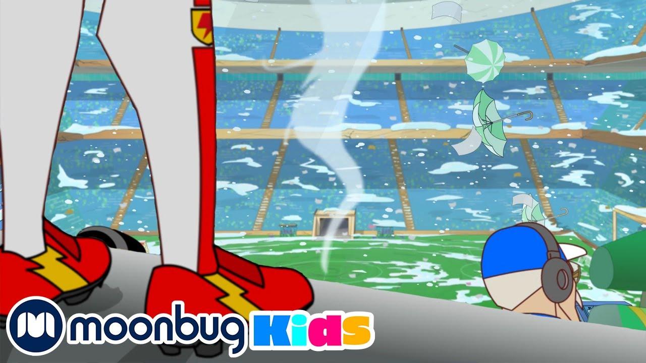 Supa Strikas S7 - Weather or Not | Moonbug Kids TV Shows - Full Episodes | Cartoons For Kids