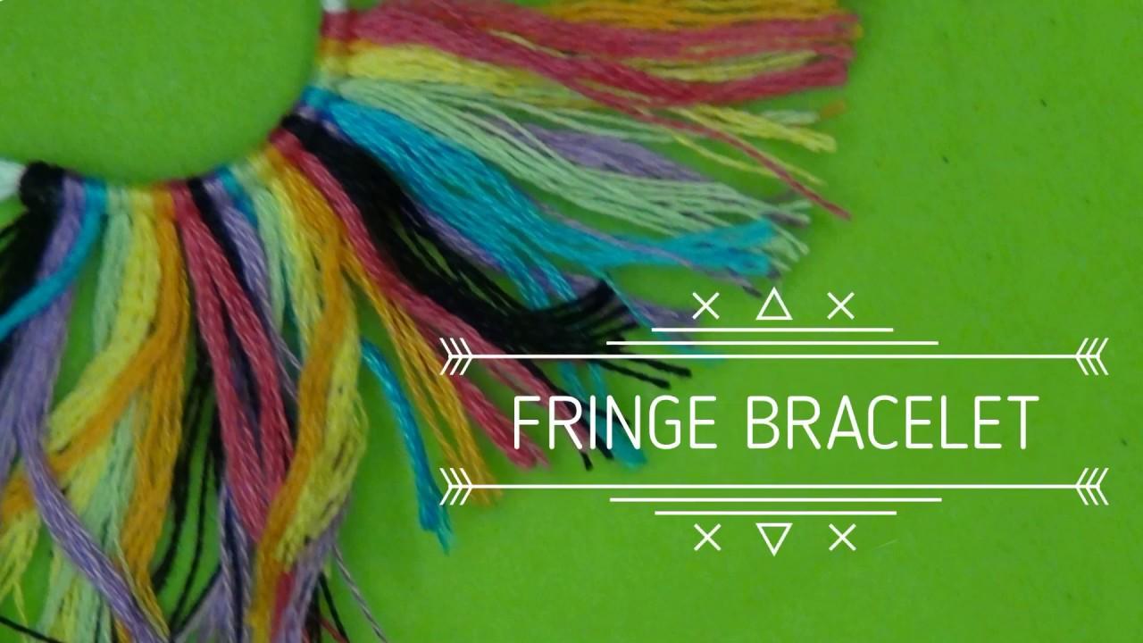 Rag Fringe Friendship Bracelet