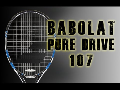 2015 babolat pure drive 107 racquet review tennis express youtube. Black Bedroom Furniture Sets. Home Design Ideas