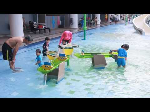 Our Tampines Hub Massive Rooftop Swimming Complex and other Playgrounds