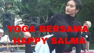 YOGA BERSAMA HAPPY SALMA